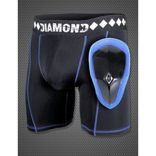DIAMOND MMA - Compression Jock Shorts & Cup System